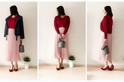 UNIQLOの定番Vネックセーターが進化! 大人女性の体型カバーに最適