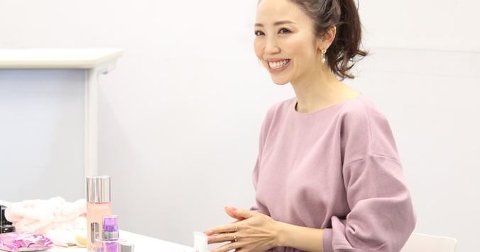 玉村麻衣子さんが教える「ツヤ肌の極意」とは?【イベントレポート】