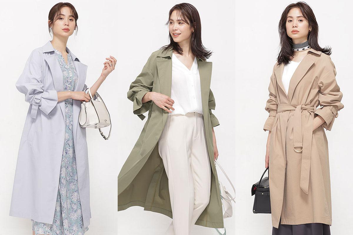スプリングコートの悩み解消。nano・universeから今春注目の洗えるコートと動けるコートが発売