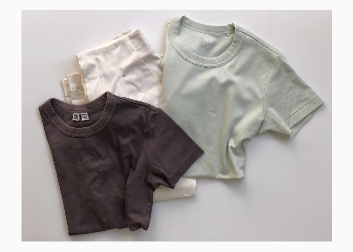 Uniqlo Uの新作Tシャツは春色が気分。1000円で旬顔コーデが楽しめます