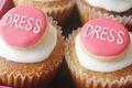 リニューアル記念! DRESS仕様のお菓子を作ってみました。