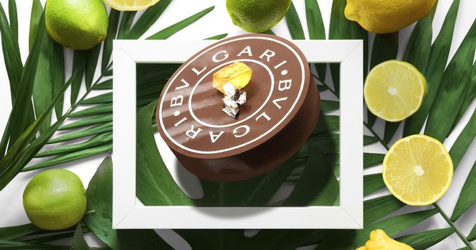 ブルガリ イル・チョコラートより、初夏の香りが漂う新作 チョコレート・ジェム 「ダージリン・レモン」発売中