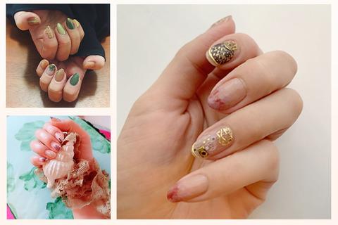 最高のセルフネイル見つけた。美しい指先を演出するクリムトシールがすごい