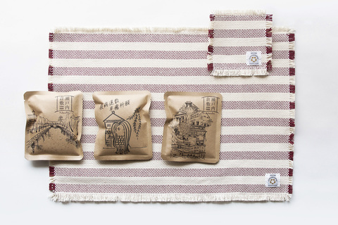 帆布の老舗タケヤリが他業種と異色のコラボ! 歴史ある生地とグラスでコーヒーを楽しむ