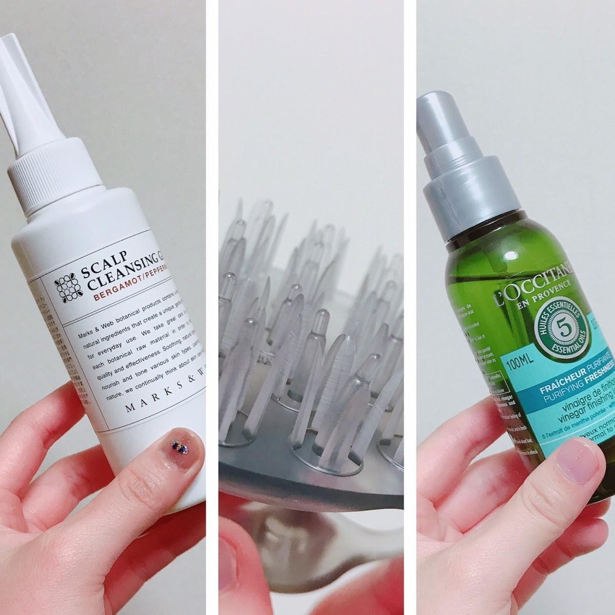 スカルプケア商品。女性におすすめの頭皮ケア、シャンプーブラシの使い方も紹介