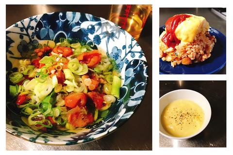 ピリ辛茶漬けにキムチオムライス! 夏の猛暑に負けないらくちんレシピ