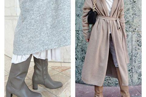 この冬、再ブレイクのロングブーツでいつものスタイルを格上げ!