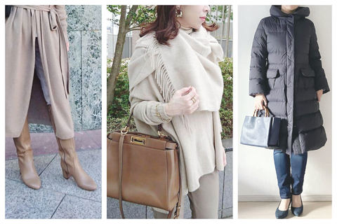 好印象カジュアルコーデのためのアウター&ファッション小物まとめ【40代冬】
