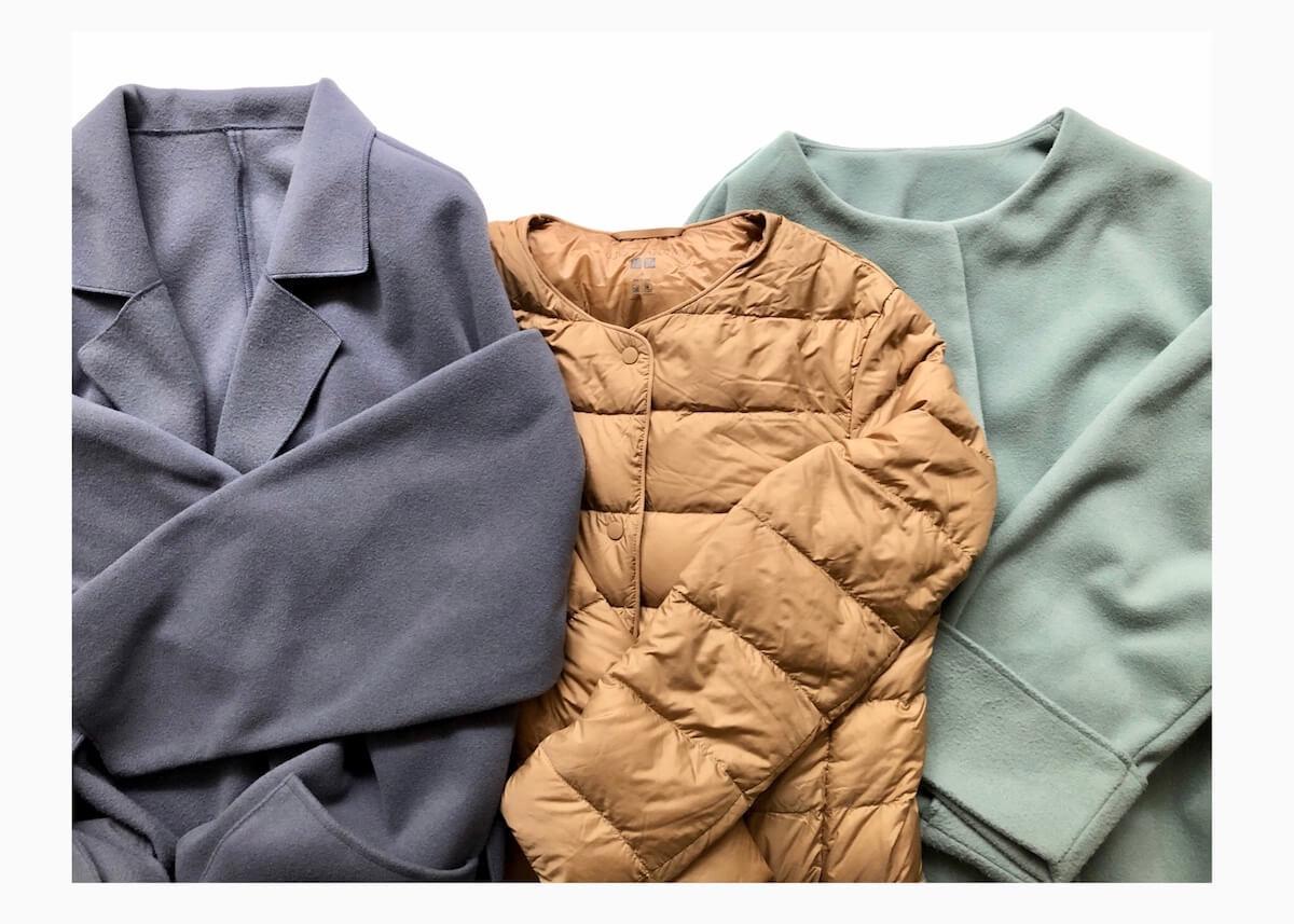 【UNIQLO】ウルトラライトダウンが必需品!冬のコートコーデにおすすめです