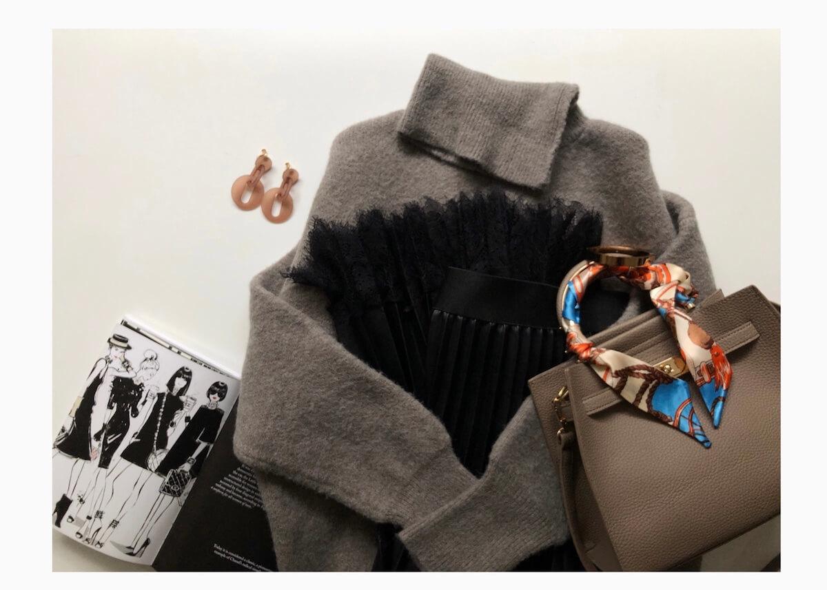 ZARA・H&Mのエコレザーなら大人上品な雰囲気を楽しめます!