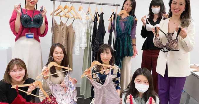 DRESSランジェリー部「ランジェリー新商品チェック会」今、人気で話題のブランドの商品をご紹介!