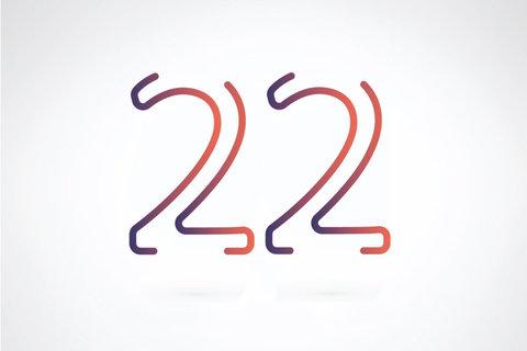 【数秘術】誕生数が22の人の基本性格・恋愛のクセ・仕事で成功するヒント・理想の結婚