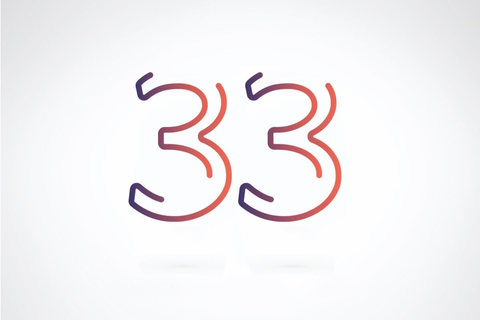 【数秘術】誕生数が33の人の基本性格・恋愛のクセ・仕事で成功するヒント・理想の結婚