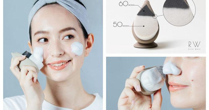 濃密洗顔・贅沢毛穴ケア用リッチホイップブラシ【SHINKA】がアップデートされて販売開始