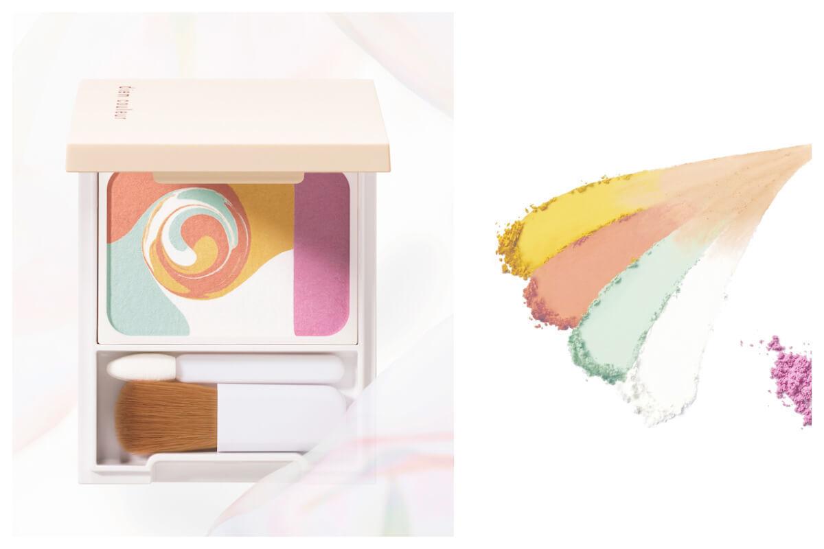 光の点描画発想のカラーブレンドパウダーコンシーラー誕生【ディエム クルール】