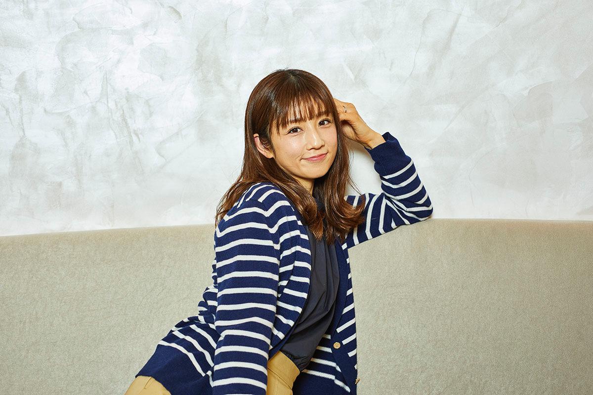 ほしいのは、本音で話せる関係性。小倉優子インタビュー