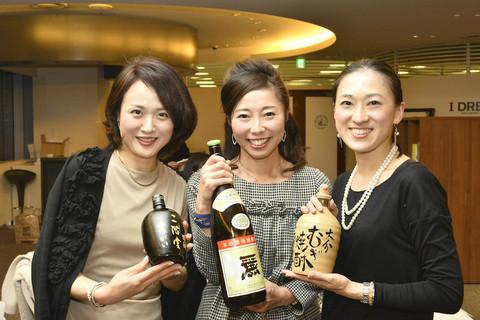 六本木の夜空に煌めく「DRESS焼酎部」女子会イベント開催!