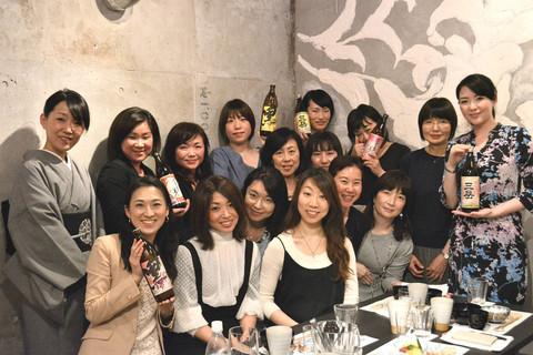"「DRESS焼酎部」会席料理で西麻布女子会♡""美味しい文化""を堪能!"