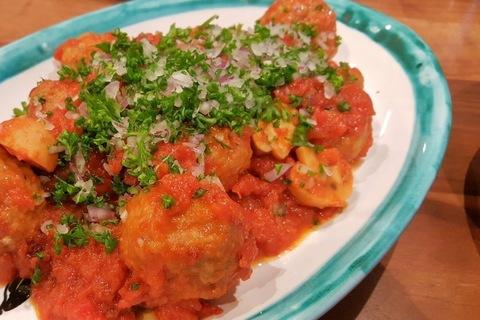 スペイン風肉団子のトマト煮込み【簡単なのにほめられる!ホムパごはん #2】