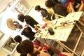 ヘアスタイリストに教わるふんわりまとめ髪♪ 札幌DRESS部イベントレポート