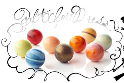 「太陽系チョコ懐石」- ショコラブティック レクラ