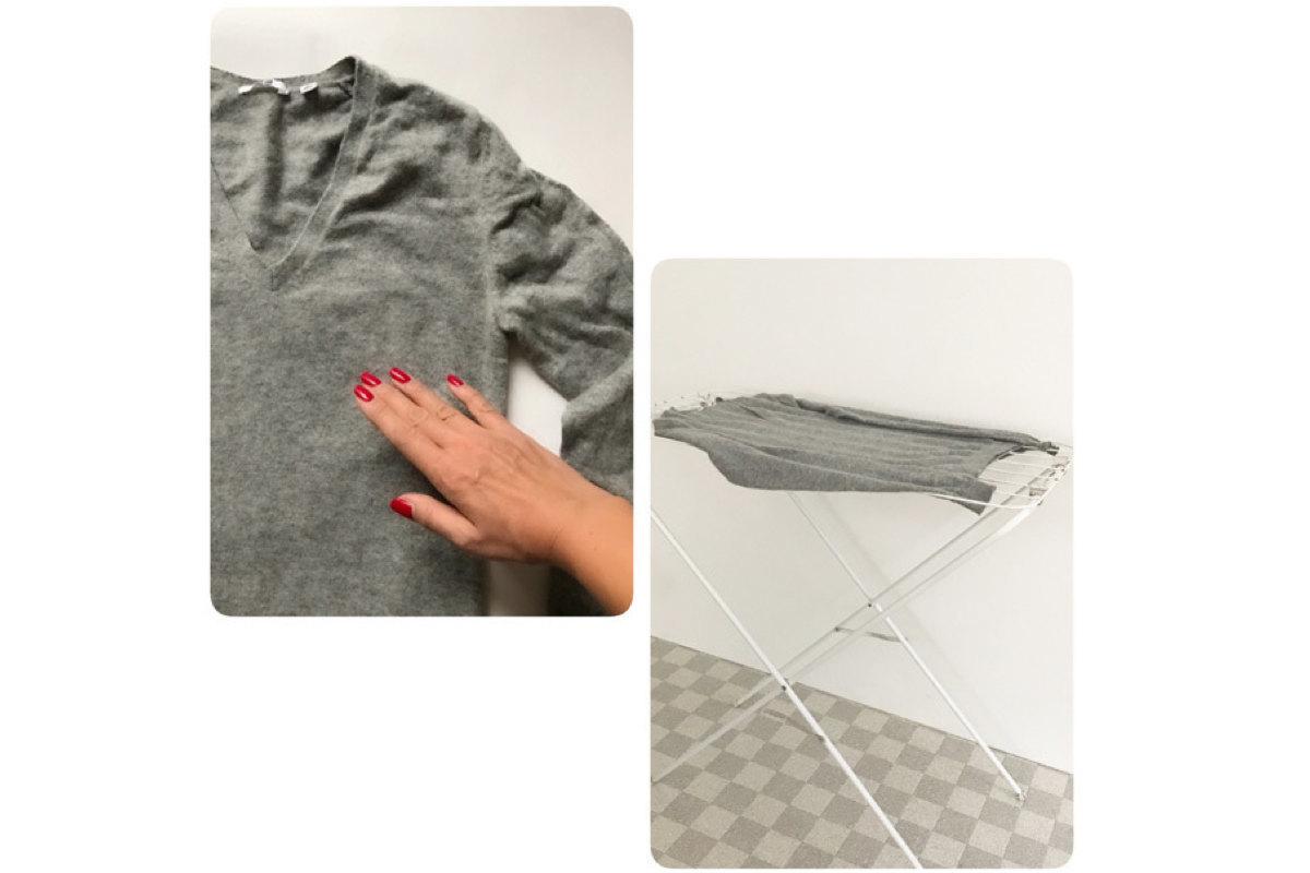 「水洗い不可」のカシミヤセーターを手洗いしてみた