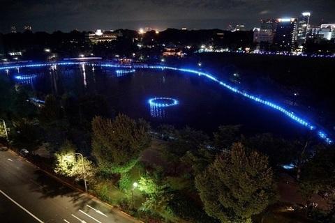 上野公園で夜のアートイベント「上野夜公園」が12月24日(土)より開催