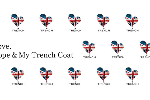 50名の女性が50枚のトレンチを着る……チャリティブック『Love,Hope & My Trench Coat』本日発売!
