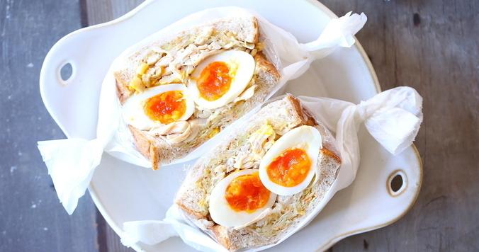 コンビニ食材だけで簡単にできる! ダイエットボリュームサンドイッチの作り方とコツ