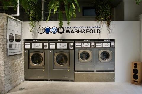 都市型ソーシャルランドリー「WASH&FOLD 中目黒高架下店」がおしゃれ