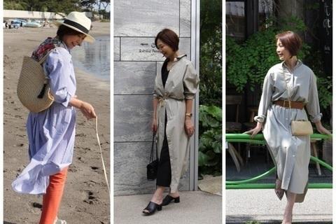初夏の羽織もの、新定番は「ロングシャツ」【デキる女の決断クローゼット #20】