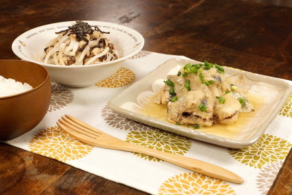 たんぱく質豊富な「鯖缶(水煮)」に一手間加えるだけの簡単レシピ