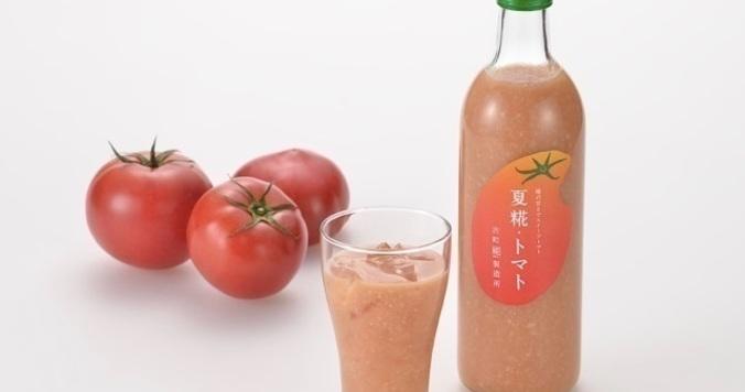 トマトをミックス! 夏限定の冷やし甘酒