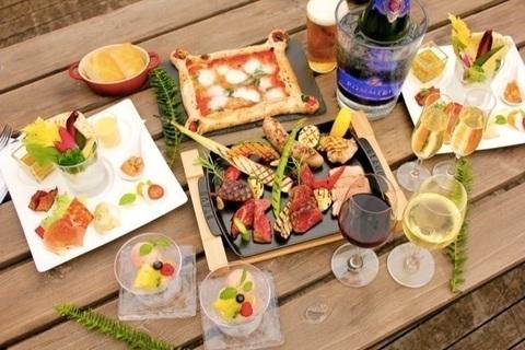 XEX DAIKANYAMAの夏季限定BBQプラン/ビアガーデンプラン