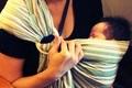 おすすめ育児グッズ「スリング」の使い方! 短い抱っこ期間を楽しもう2