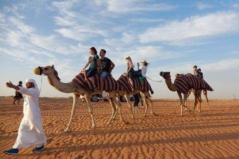 ラクダに乗って砂漠のプリンセス! おしゃれでおトクなドバイ旅【オトナの美旅スタイル #21】