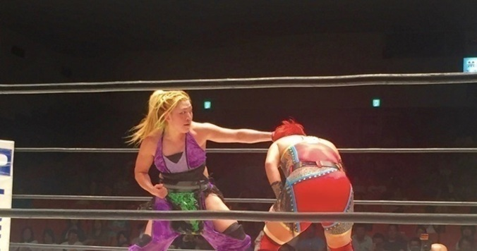 【DRESSプロレス部 活動報告】プロレスリングWAVE「BE  EXCITING」を観戦して