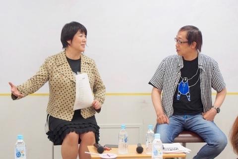 """【DRESSプロレス部 活動報告】""""GK""""金沢克彦さん×井上野乃花 部長トークイベント"""