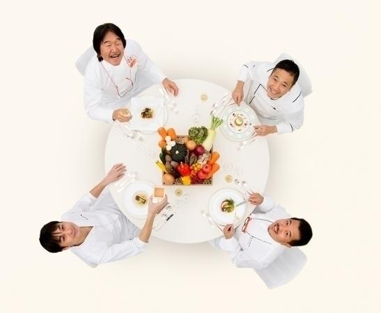 4人のスターシェフが集結した夢のウエディングメニュー「パルフェ タムール」がホテル日航東京でスタート!