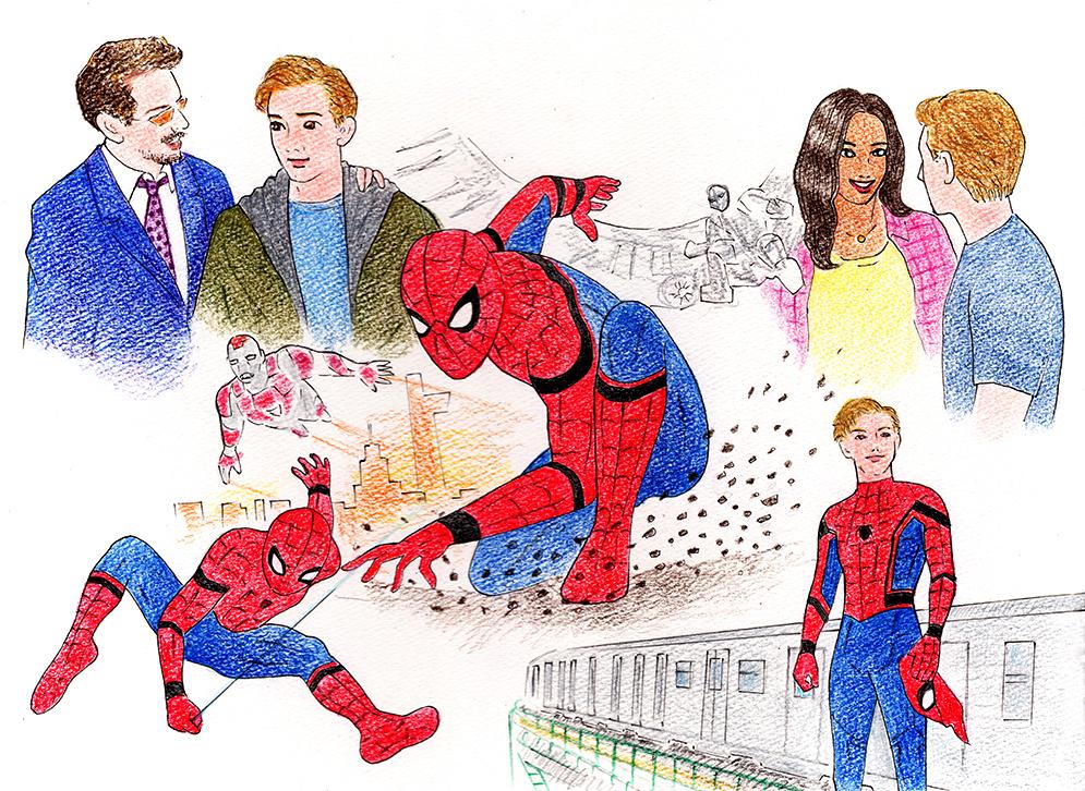 映画『スパイダーマン ホームカミング』感想。普通の高校生が真のヒーローになる成長物語!