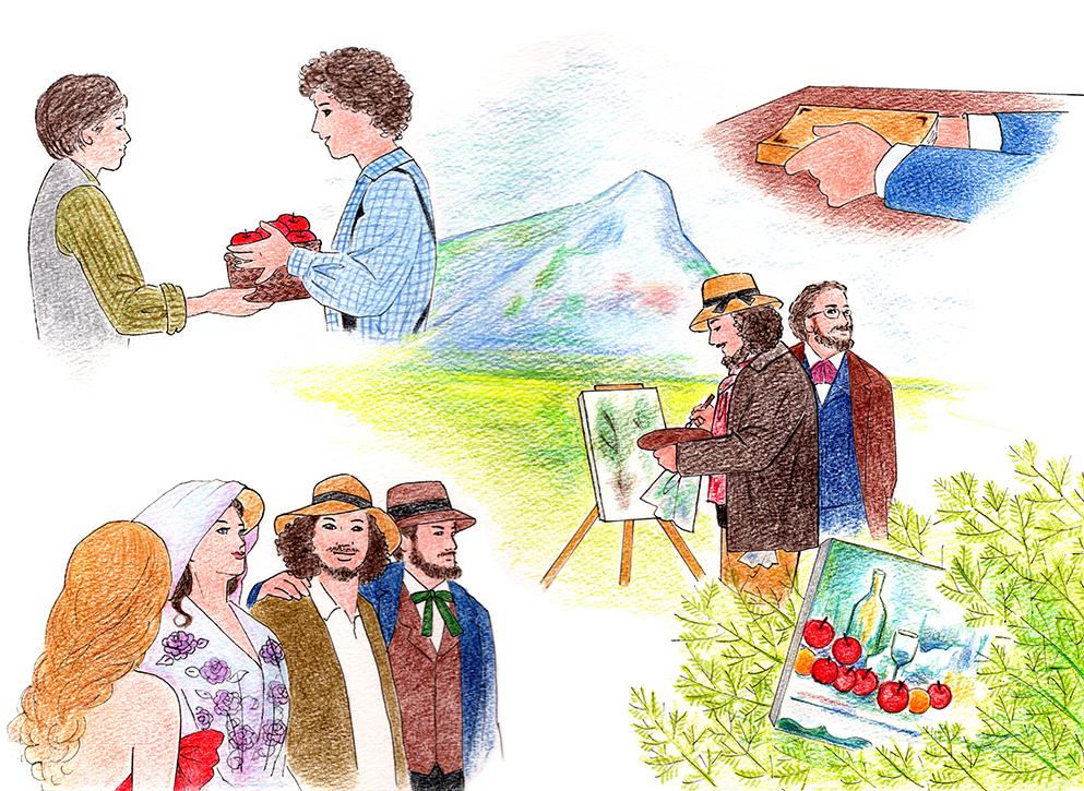 映画『セザンヌと過ごした時間』感想。芸術の秋におすすめ! 画家セザンヌと小説家ゾラの友情と創造の軌跡