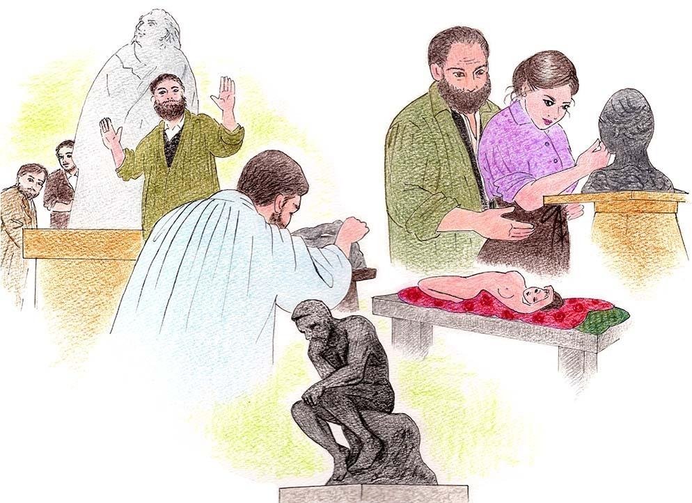映画『ロダン カミーユと永遠のアトリエ』感想。芸術の秋におすすめ!「考える人」で名高いロダンの愛と創作の半生を描いた物語。