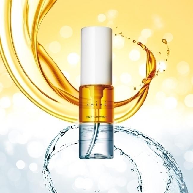 ハリ肌へと導く、4役担うオイル美容液「imini リペアコンセントレート」