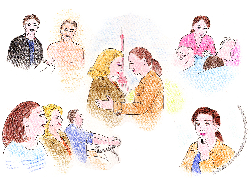 映画『ルージュの手紙』感想。珠玉の人生讃歌!カトリーヌ・ドヌーヴとカトリーヌ・フロの豪華共演!