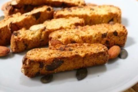 ビスコッティの簡単レシピ。グルテンフリーでさくっと美味