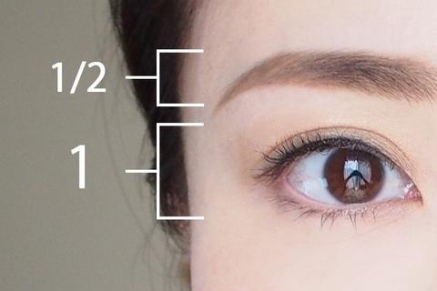 目幅の半分の細さで描く! 大人きれいに見せる眉メイクのやり方とコツ