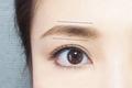 直線的で角度しっかり。知的に見せる眉メイクのやり方とコツ