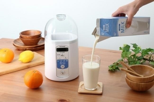 「飲むヨーグルト」を簡単に作れるヨーグルトメーカー