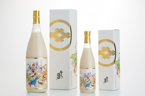 スイーツみたいな日本酒。まっしろでトロリと甘い「しろい酒」