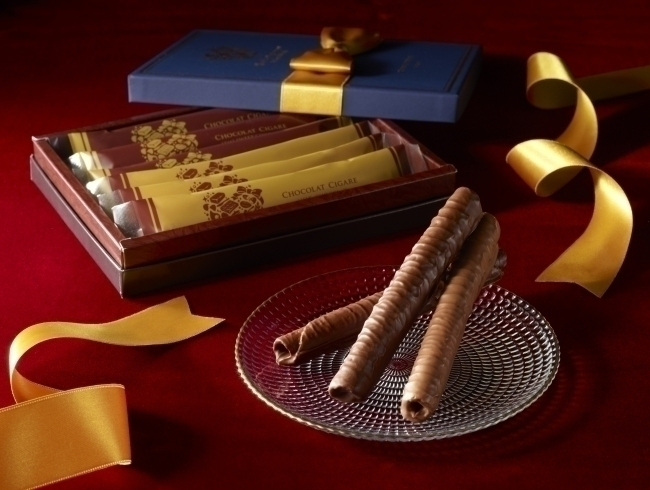 バレンタインに贈りたい、ヨックモックのスペシャルな「ショコラ シガール」